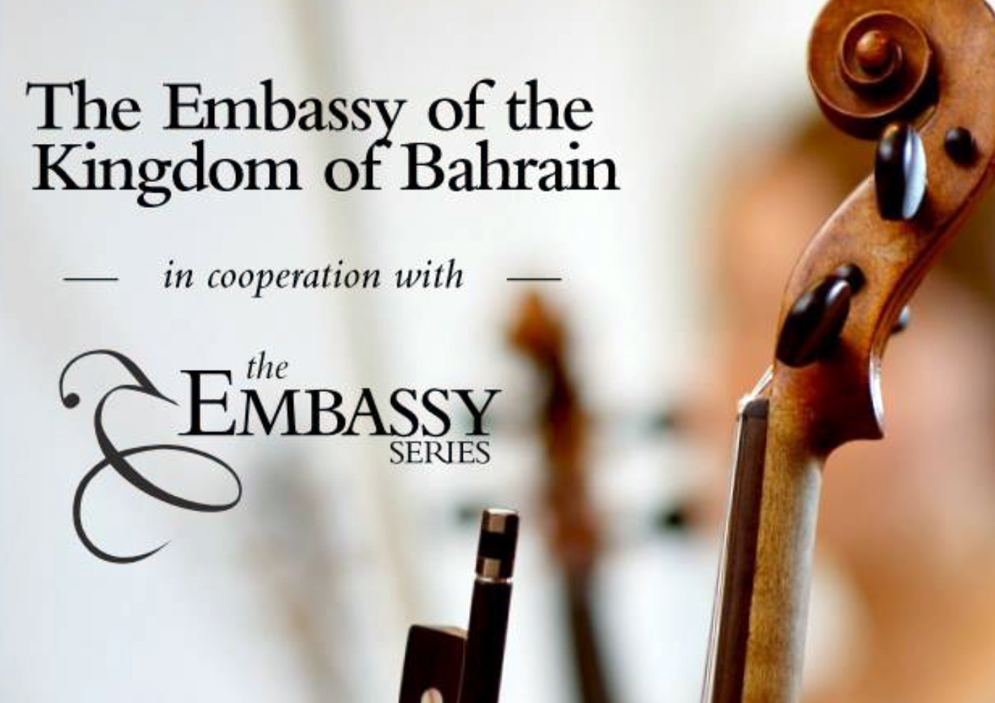 The Embassy of the Kingdom of Bahrain